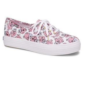 Sz 8 or 8.5 Keds triple Little Miss Lucky